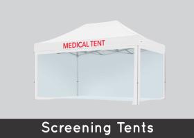 Screening Tents
