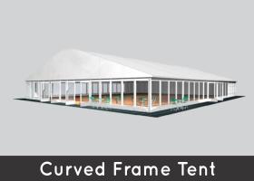 Curved Frame Tents
